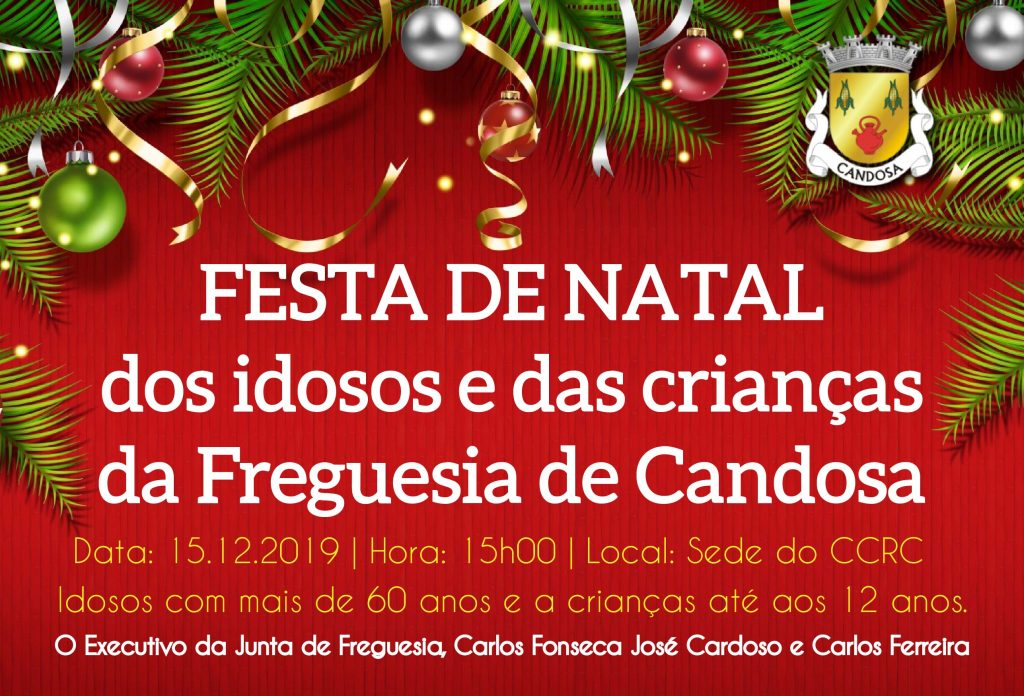 Festa De Natal Dos Idosos E Das Crianças Da Freguesia De